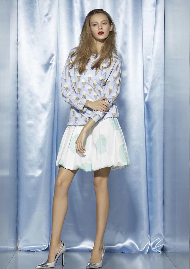 Blugirl folies 2015 stampa gelato