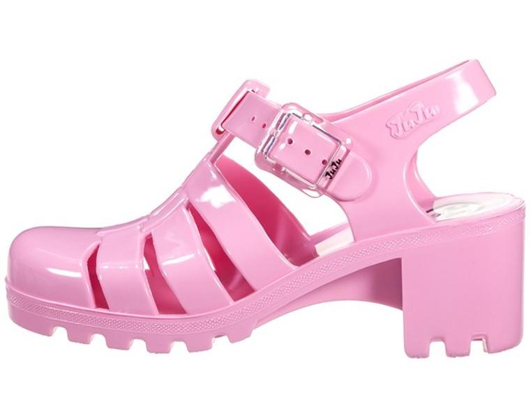 sandali gomma rosa zalando