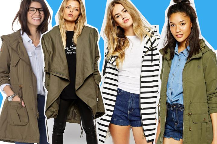 Il parka: 10 modelli di tutti gli stili per l'estate 2015