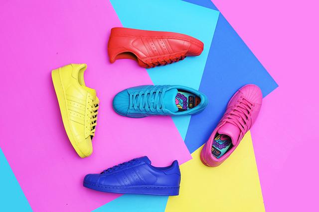 Adidas Superstars Colorate