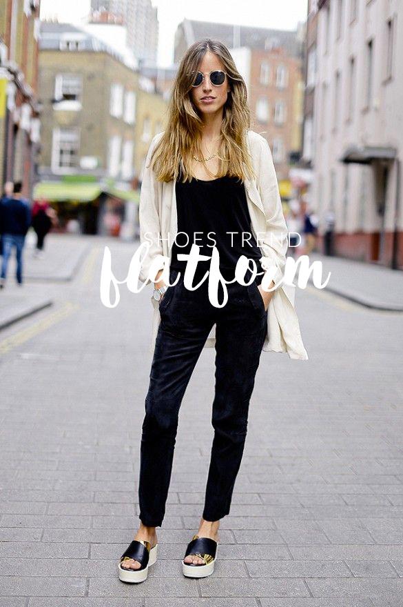 Sandali Flatform: ecco l'ultimo trend scarpe 2015