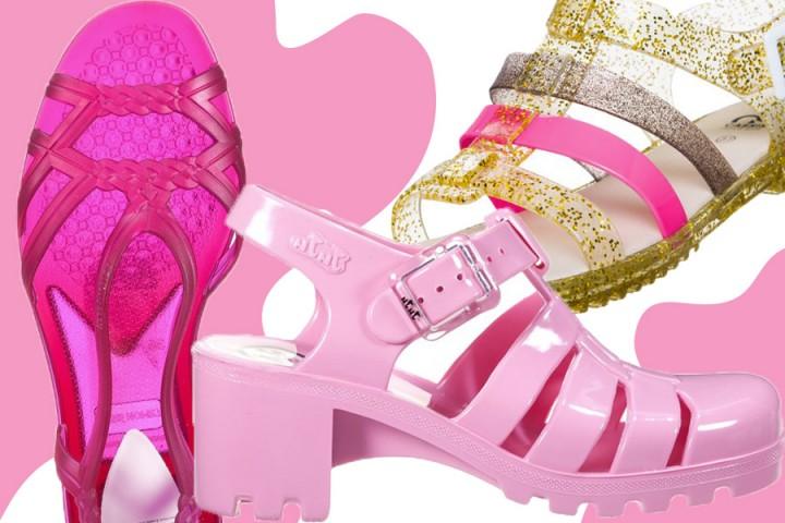 Jelly shoes per l'estate 2015: i sandaletti in gomma sono tornati