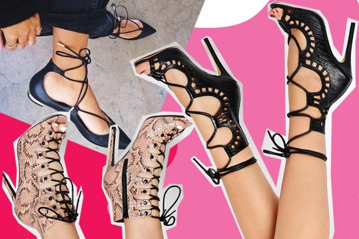 Lace up shoes, le scarpe con i lacci di tendenza