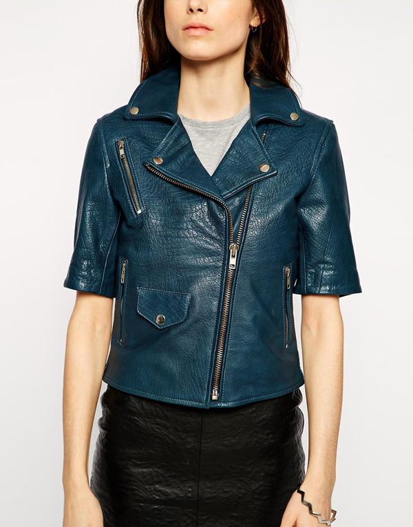 leather-jacket-manica-a-tre-quarti-asos