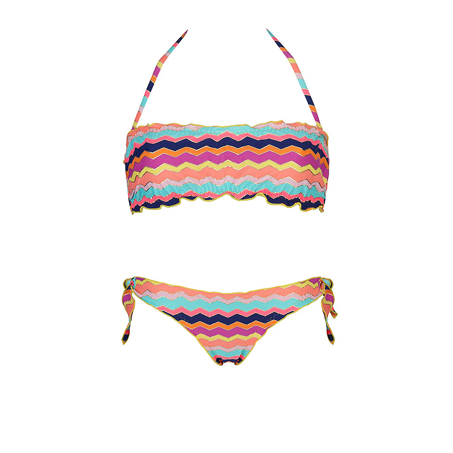 righe-colorate BIKINI GOLDEPOINT 2015