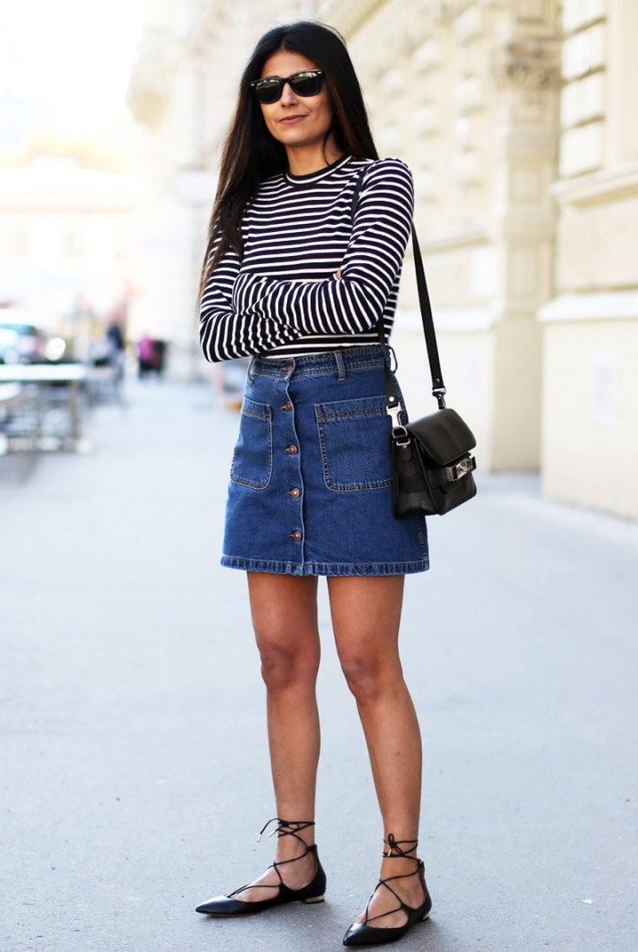 Famoso Gonne in jeans: 12 modelli imperdibili!Impulse | Il Fashion Blog  BW75