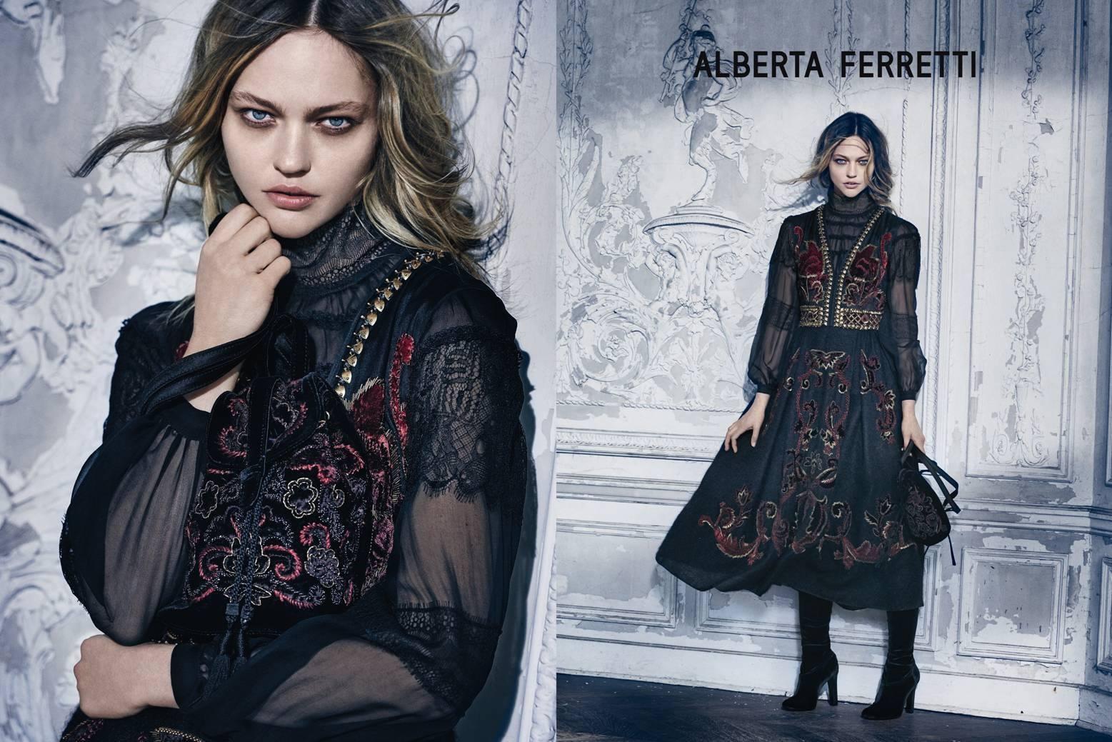 ALBERTA FERRETTI CAMPAGNA PUBBLICITARIA AUTUNNO/INVERNO 2015/2016