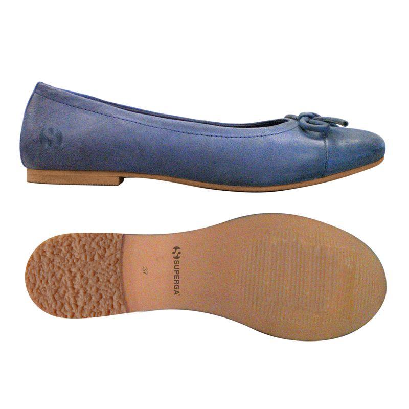 B blue in pelle 75