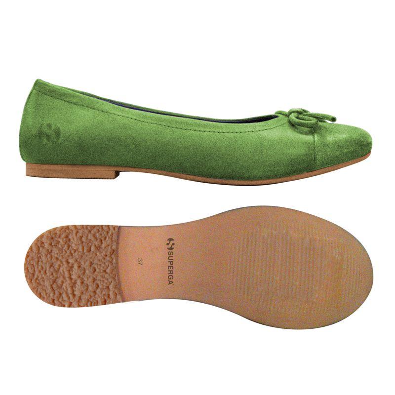 B verde pelle 75