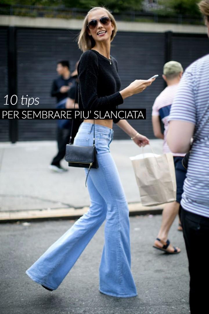 10 consigli fashion per sembrare più slanciata