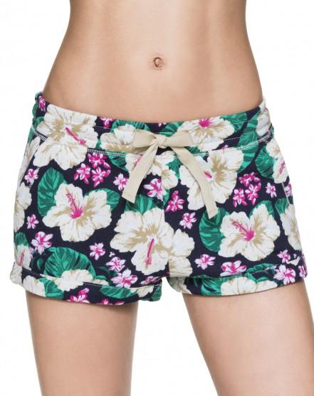 Shorts a fiori con tasche a chino. Prezzo 24,95 €