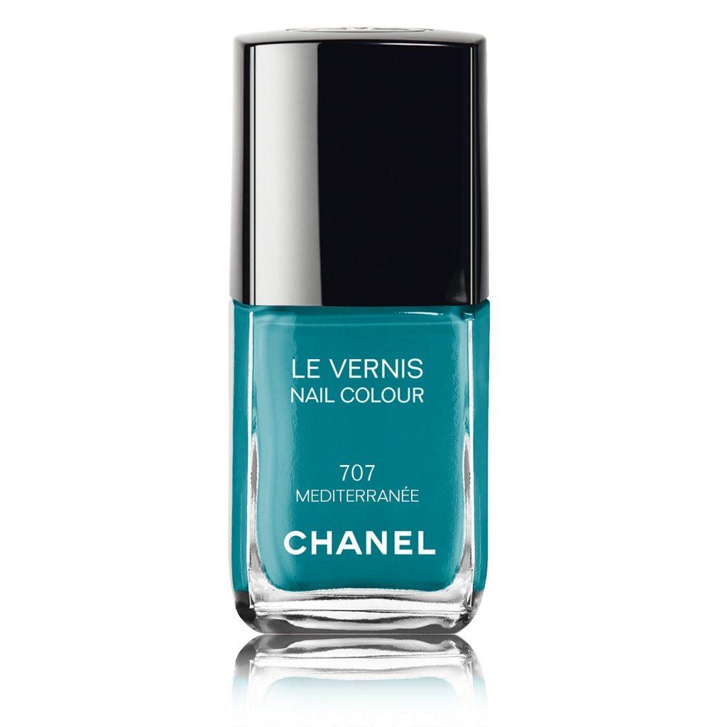 Smalto Chanel, tonalità 707 Mediterranee