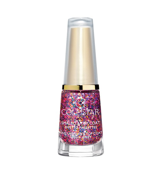 Smalto & top coat Collistar effetto glitter, multicolor