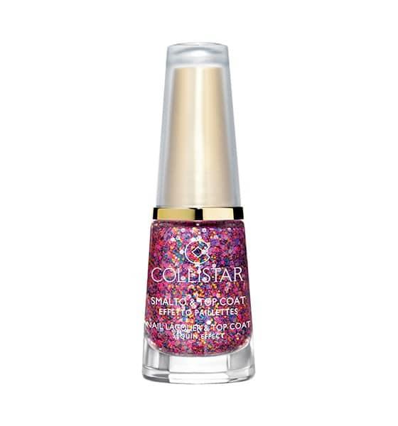 Smalto & top coat Collistar effetto glitter, multicolor