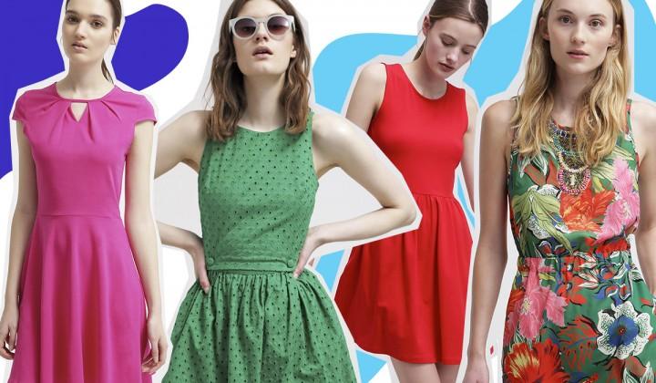 30 vestiti corti per l'estate 2015 tra colore, pois e fiori