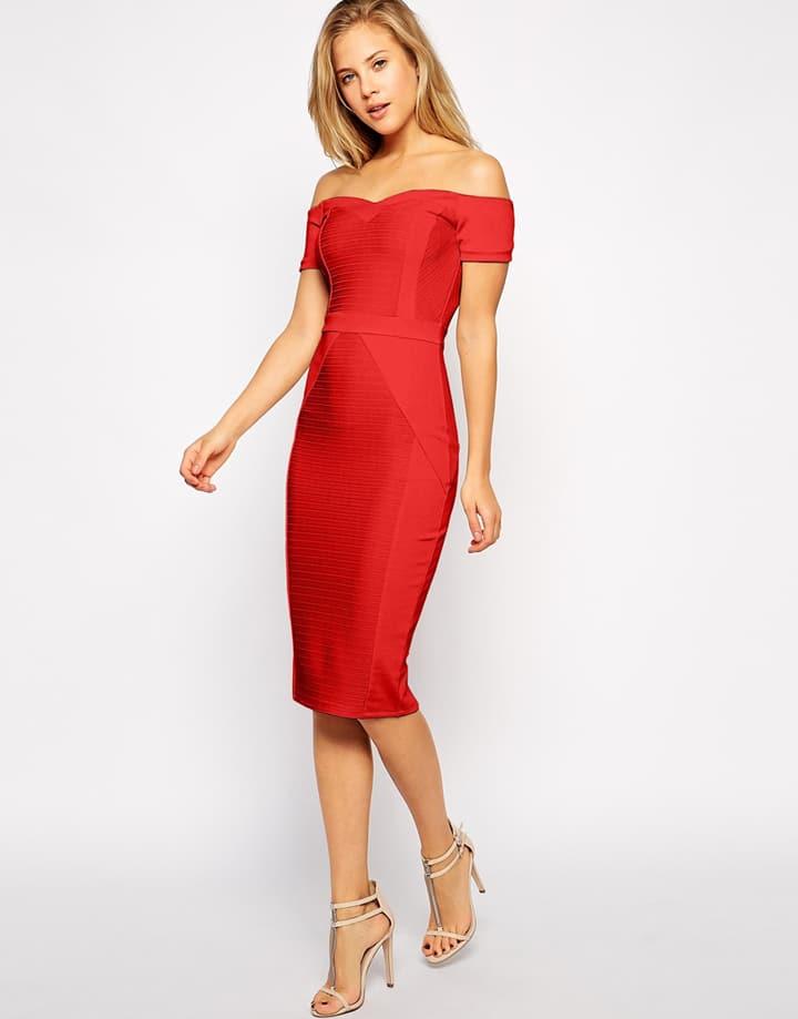 0b67d000bf7e Abito Rosso Da Cerimonia ~ Vestiti per matrimonio che lasceranno tutti a  bocca