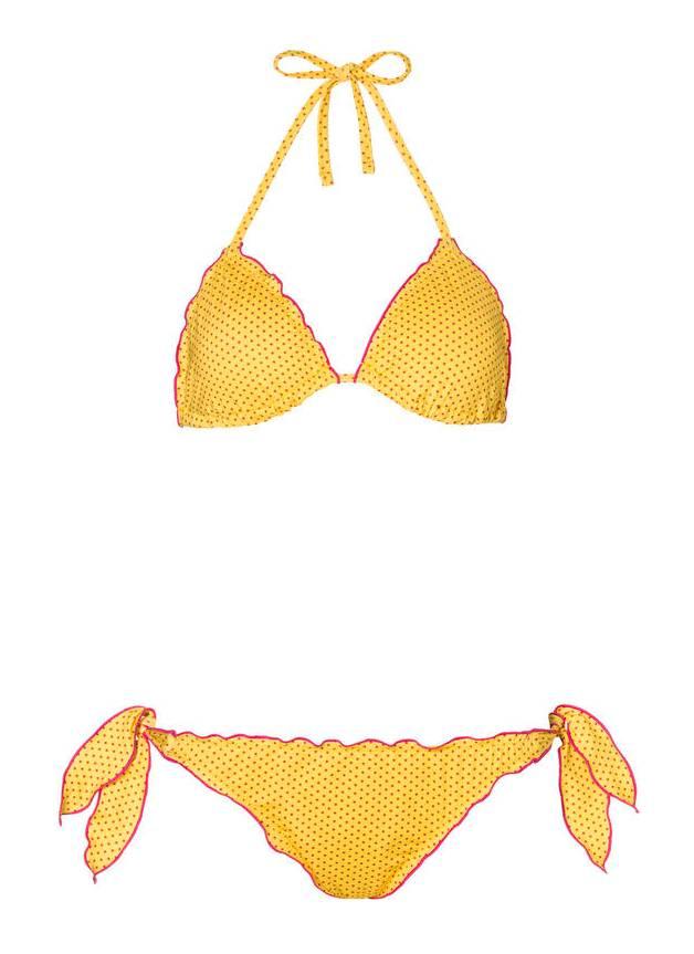 bikini-triangolo-giallo-a-pois