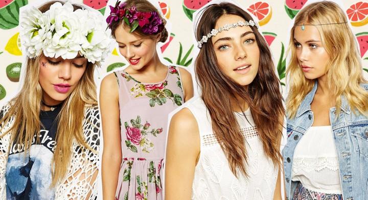 Ghirlande, coroncine, fermagli e foulard: ecco gli accessori per capelli più trendy