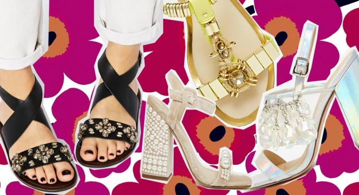 10 sandali gioiello per l'estate 2015