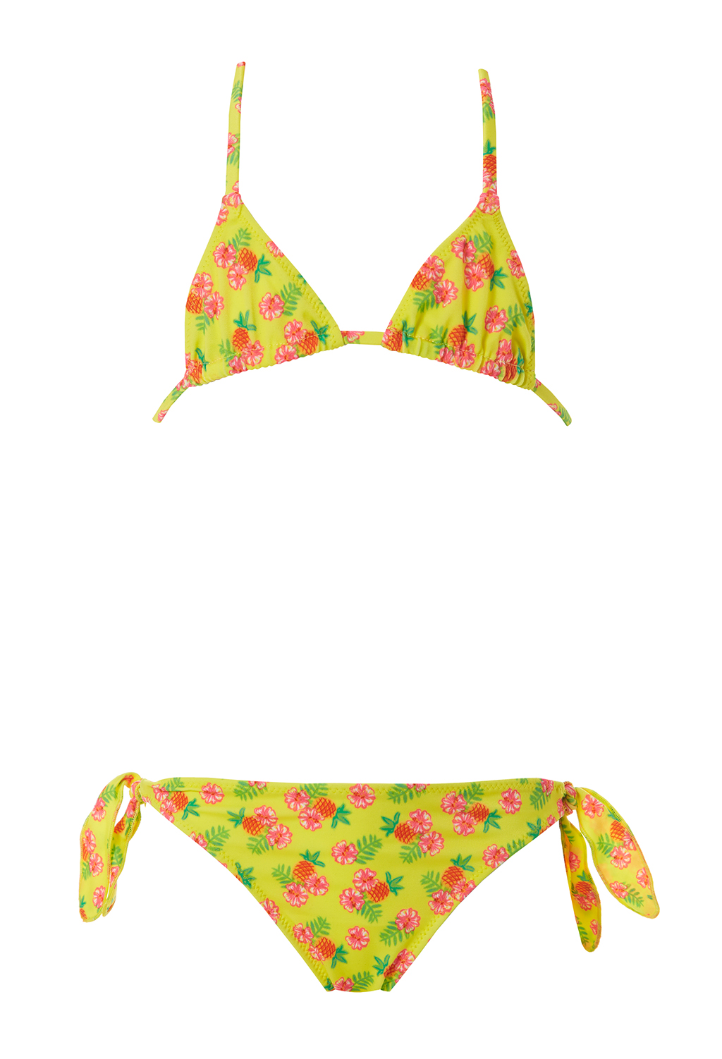 triangle bikini shocking pink