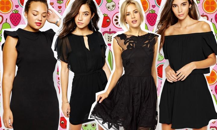 The summer is black! 30 vestiti neri corti per l'estate