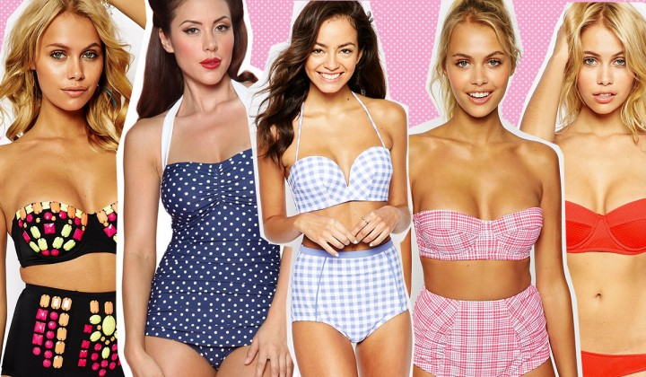 Costumi in stile pin-up: i più belli selezionati per voi tra le collezioni estate 2015