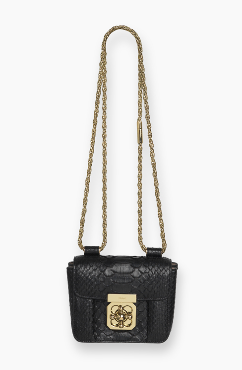 ELSIE MINI BAG IN PYTHON black