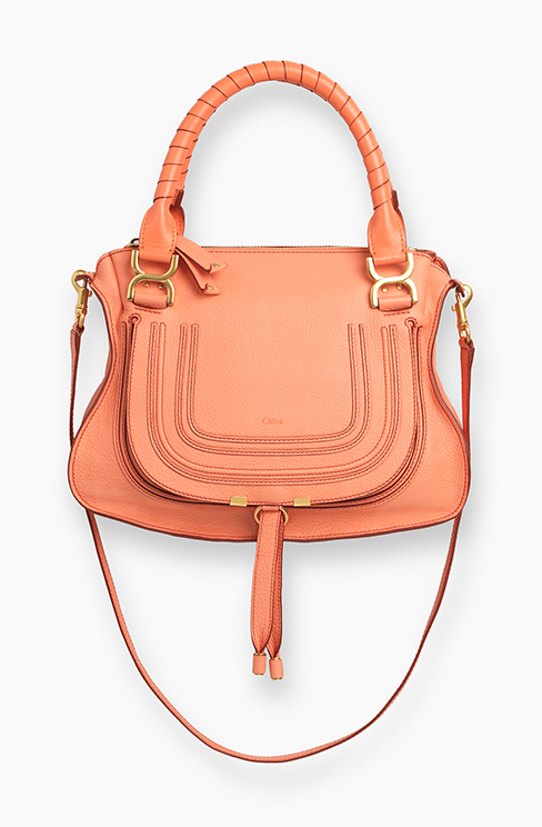 MARCIE BAG IN GRAINED CALFSKIN corla pop