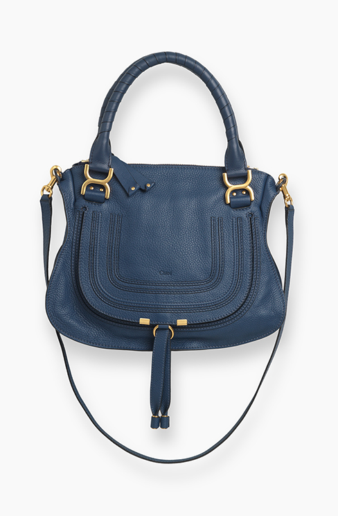 MARCIE BAG IN GRAINED CALFSKIN royal navy