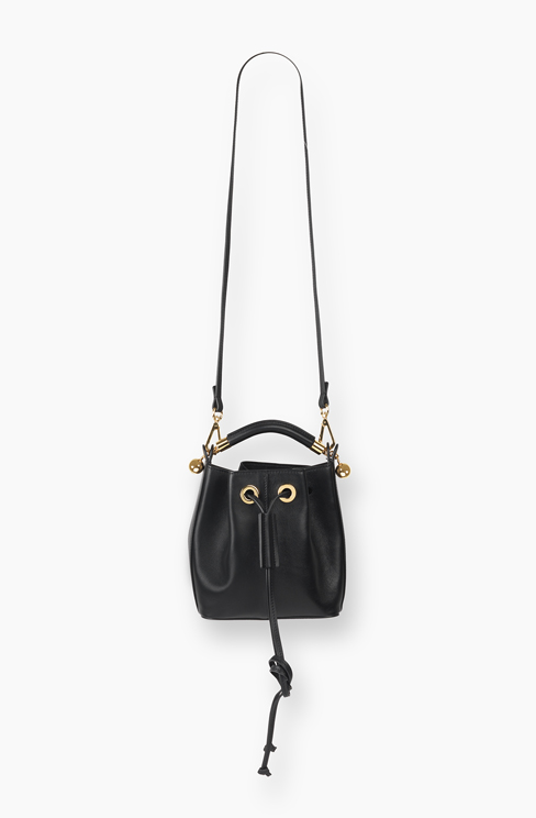 SMALL GALA BUCKET BAG IN SMOOTH CALFSKIN black