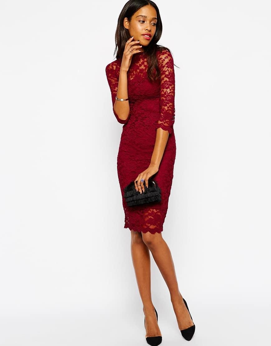 Favoloso Shopping in saldo: abiti in pizzo rossoImpulse   Il Fashion Blog  XI81