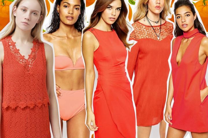 Colori trend estate 2015: arancione pop super vitaminico
