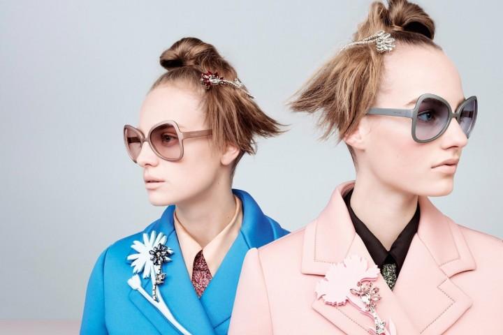 Occhiali da sole Prada: la collezione 2015