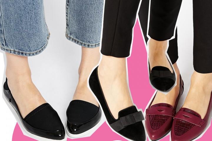 Pointed flats, le scarpe a punta di moda per l'autunno