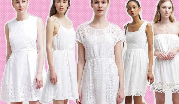 20 vestiti bianchi da avere per l'estate 2015