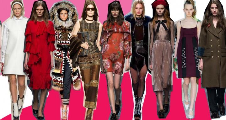 Tendenze moda Autunno/Inverno 2015-2016