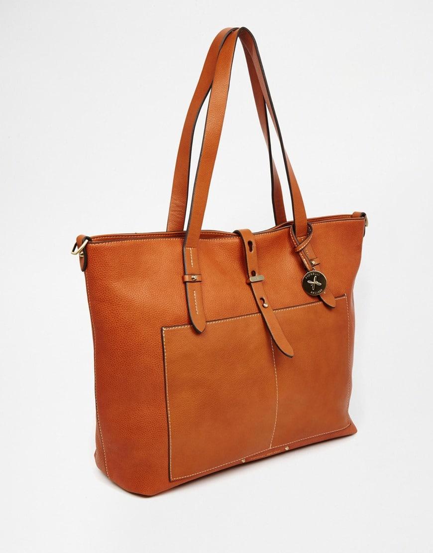 120_Maxi borsa Fiorelli, in ecopelle zigrinata. Tracolla removibile (81,99 € su Asos)