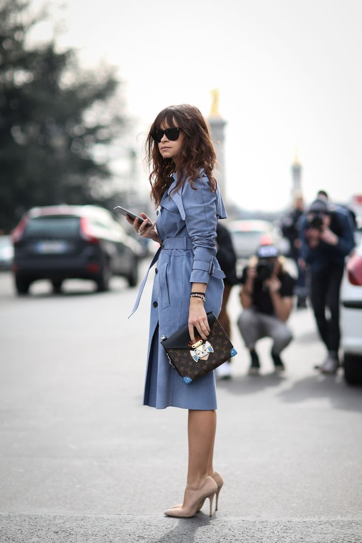 trench coat outfit elegante