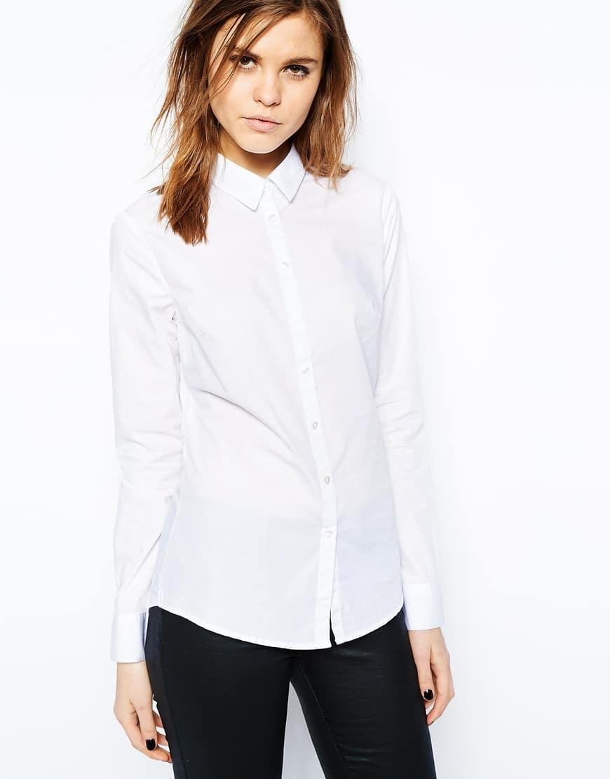 71_Camicia taglio classico Asos, in puto cotone; vestibilità aderente (30,99 € su Asos)