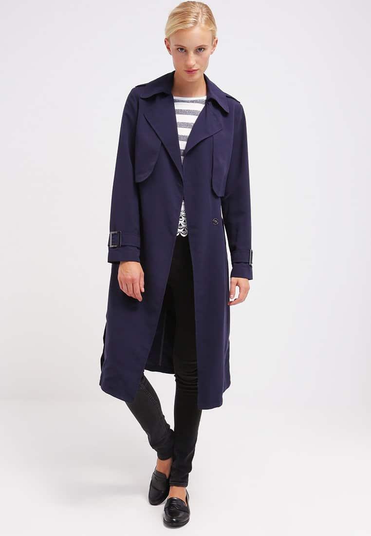 Trench coat classico lungo