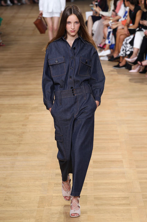 Total look denim by Chloé, collezione PrimaveraEstate 2015