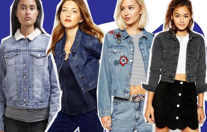 Giacca jeans da donna, come indossarla e 30 idee shopping