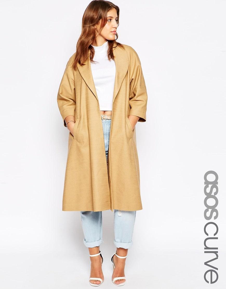 trench coat lungo