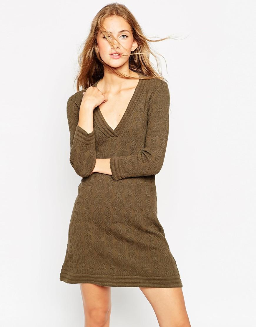 abito corto maglia autunno 2015