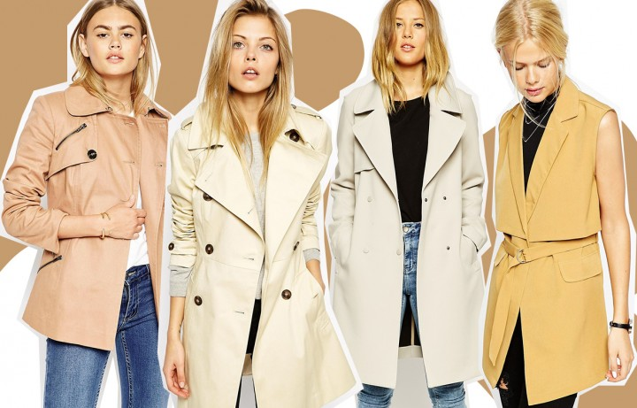Trench beige da donna, 30 idee shopping low cost