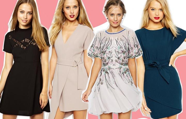 30 abiti corti eleganti per l'autunno 2015