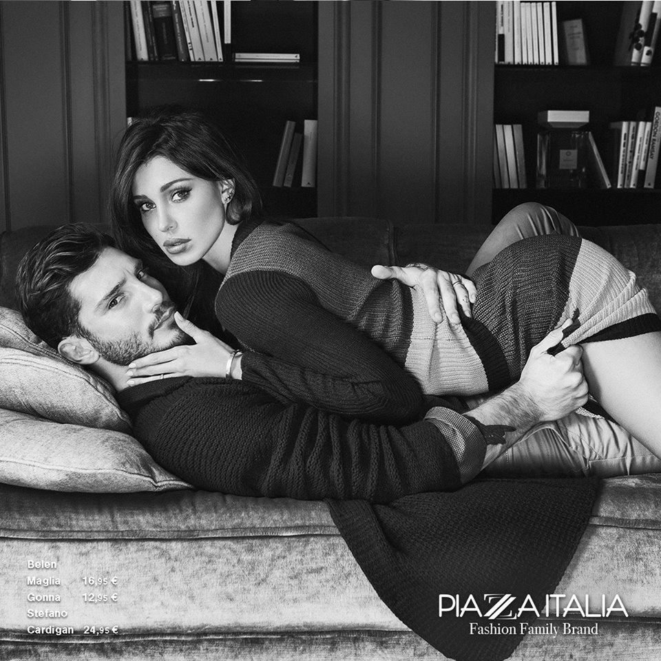 Piazza italia belen e stefano volti del brand impulse - Giochi che si baciano a letto ...