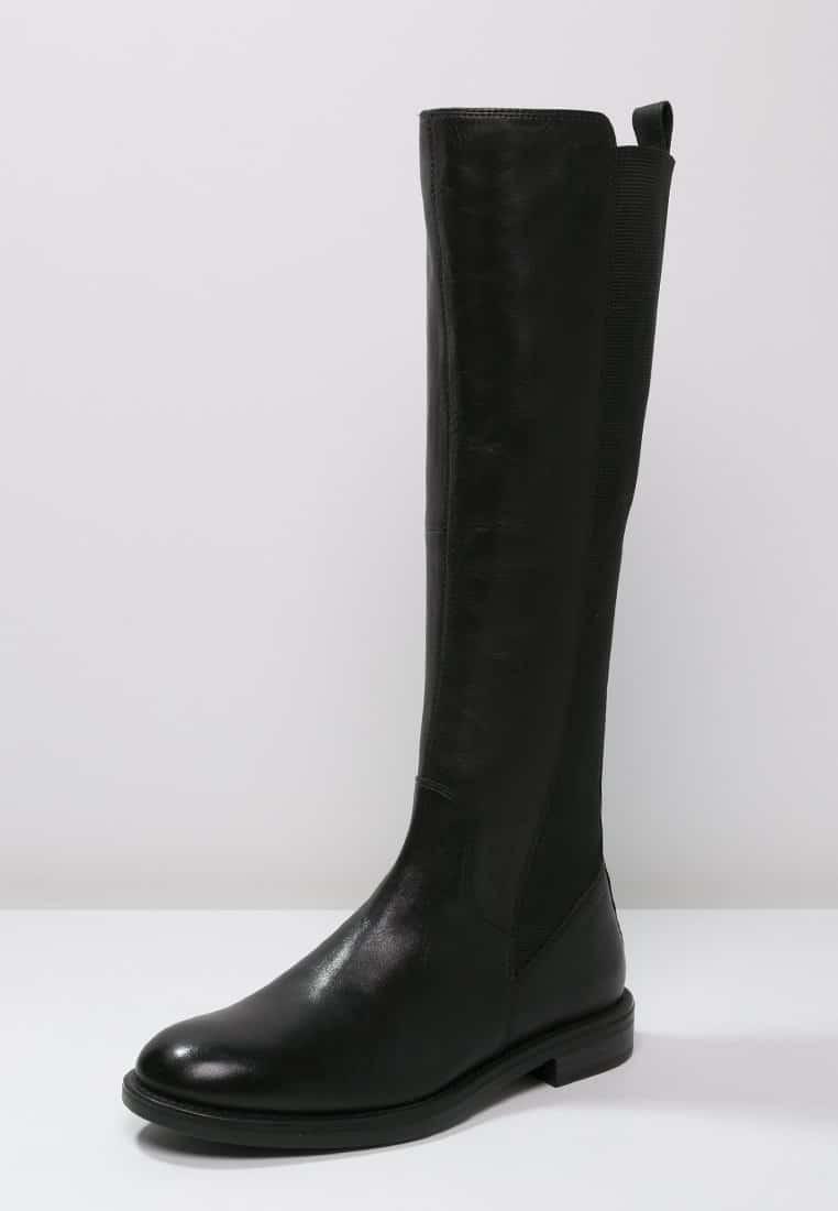 2_Stivali da donna neri senza tacco