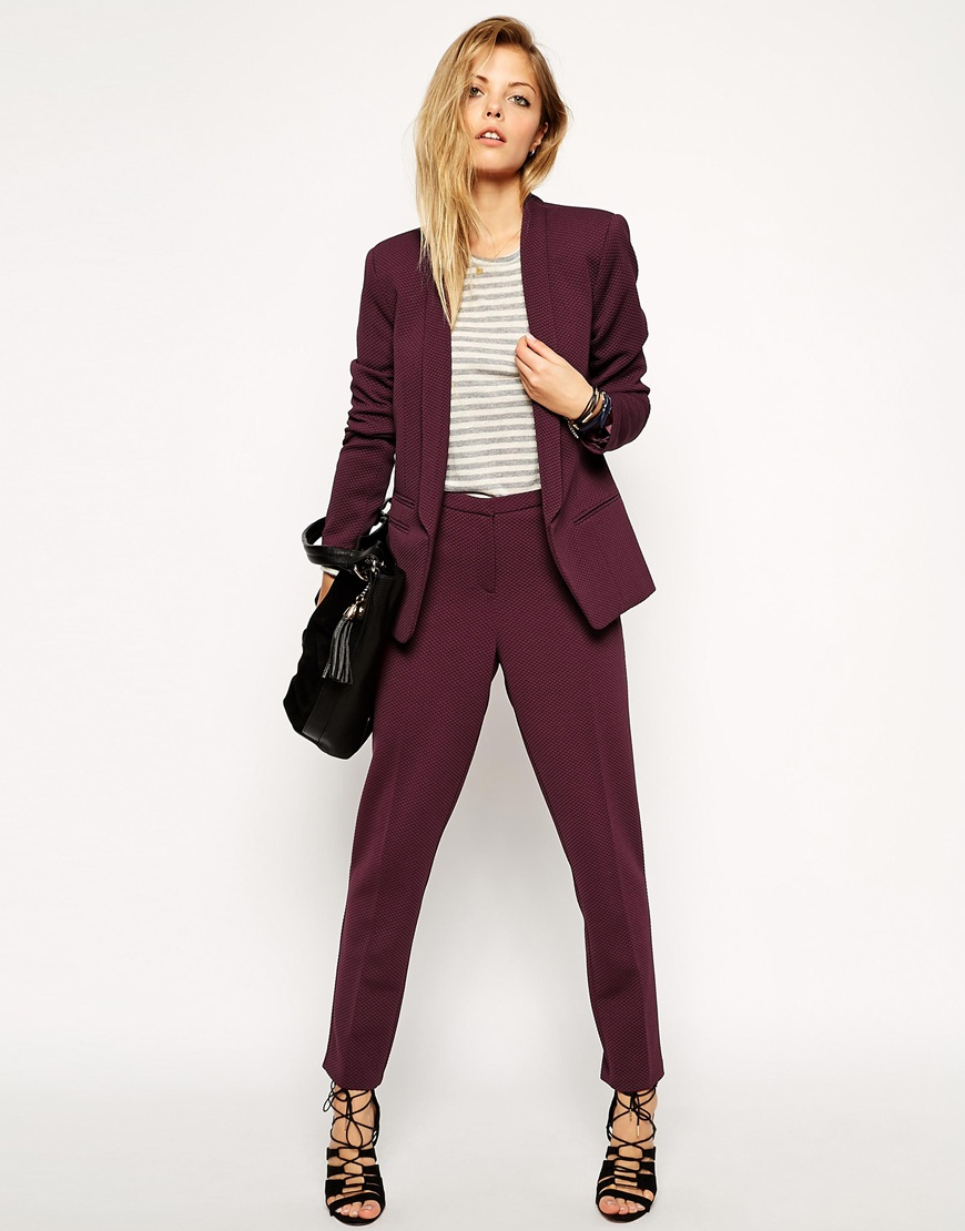 Business pant suits for women