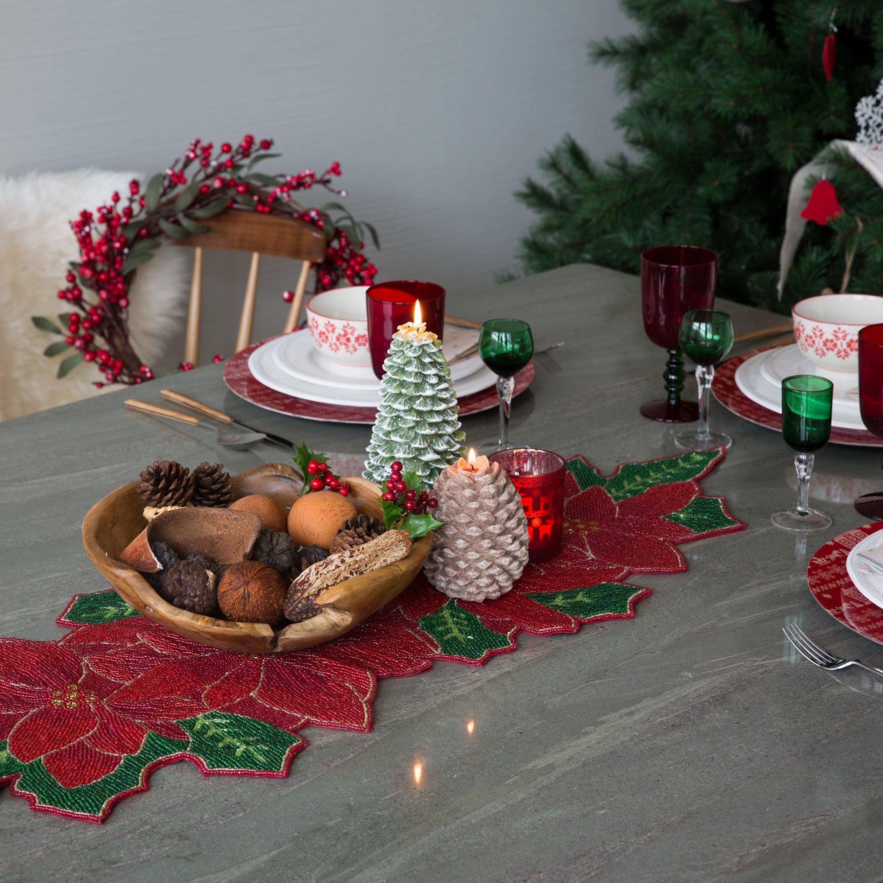 Tavola di Natale come apparecchiare